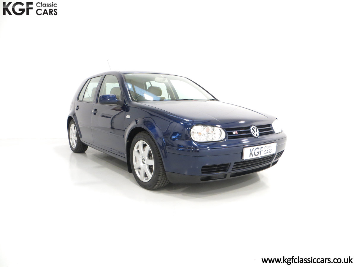 2000 A Luxurious Volkswagen Golf V6 4Motion with Full VW History  For Sale (picture 1 of 6)