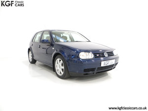 2000 A Luxurious Volkswagen Golf V6 4Motion with Full VW History  SOLD