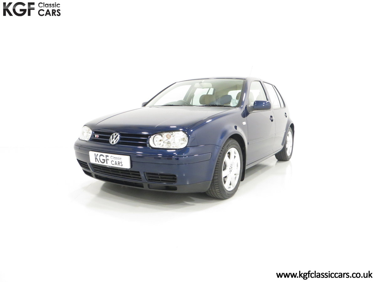 2000 A Luxurious Volkswagen Golf V6 4Motion with Full VW History  For Sale (picture 2 of 6)