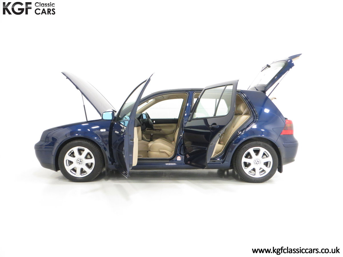 2000 A Luxurious Volkswagen Golf V6 4Motion with Full VW History  For Sale (picture 3 of 6)