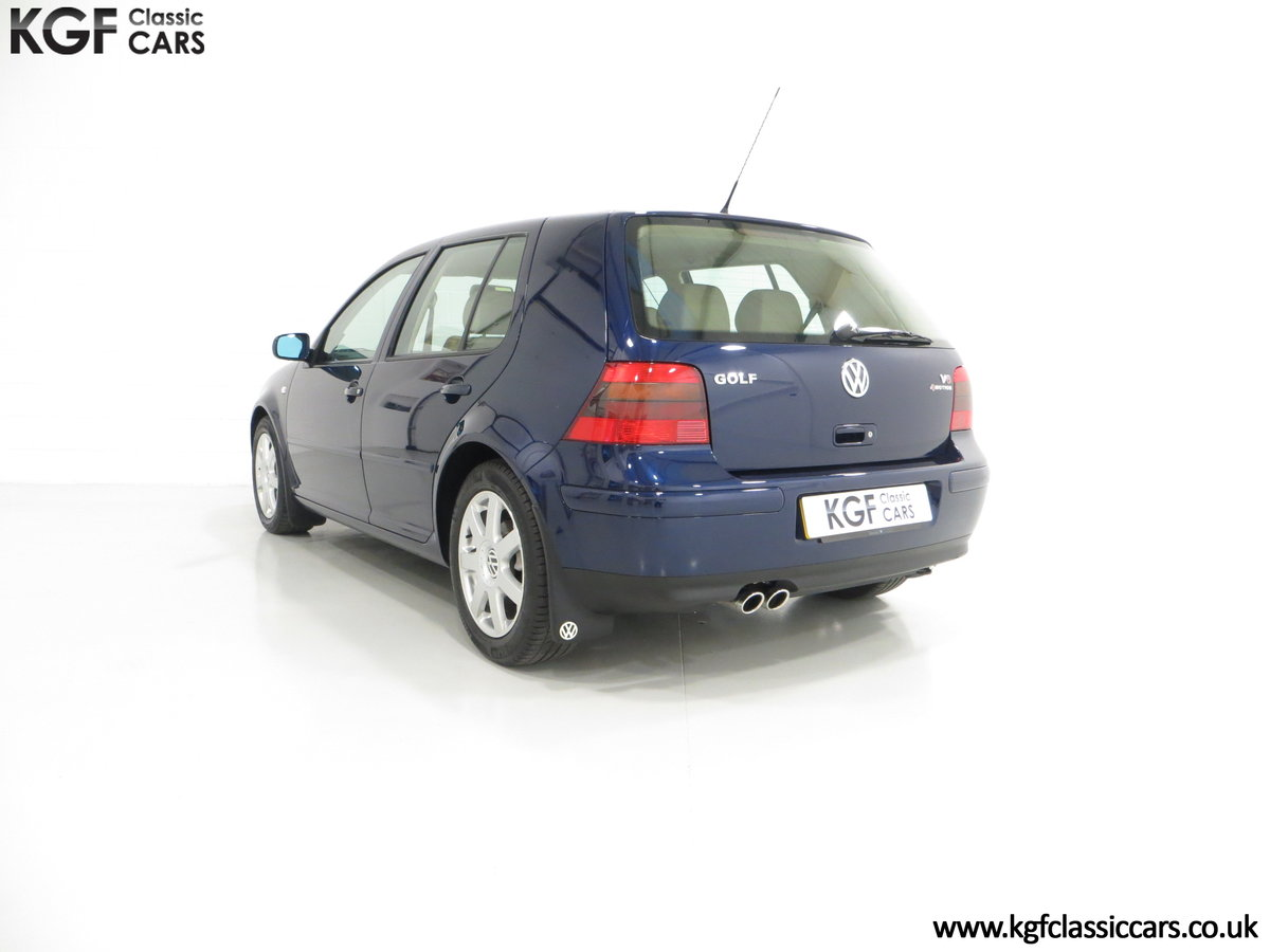 2000 A Luxurious Volkswagen Golf V6 4Motion with Full VW History  For Sale (picture 4 of 6)