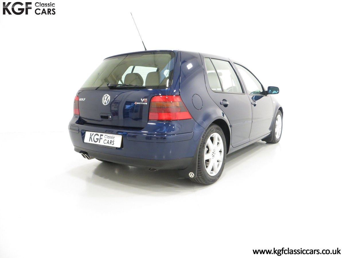 2000 A Luxurious Volkswagen Golf V6 4Motion with Full VW History  For Sale (picture 5 of 6)