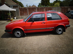 1989 one owner,19000 miles,full vw history For Sale