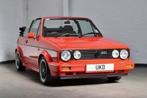 VW VOLKSWAGEN GOLF MK1 GTI SPORTLINE CABRIOLET RED 1991  For Sale