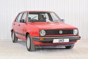 1988 VW VOLKSWAGEN GOLF MK2 GL 1.8 4+E RED 4DR 1989  For Sale