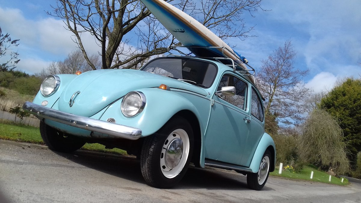 1972 VW BEETLE 1200 ~ RUNS & DRIVES GREAT ~ SOLID FLOORS! SOLD (picture 1 of 6)