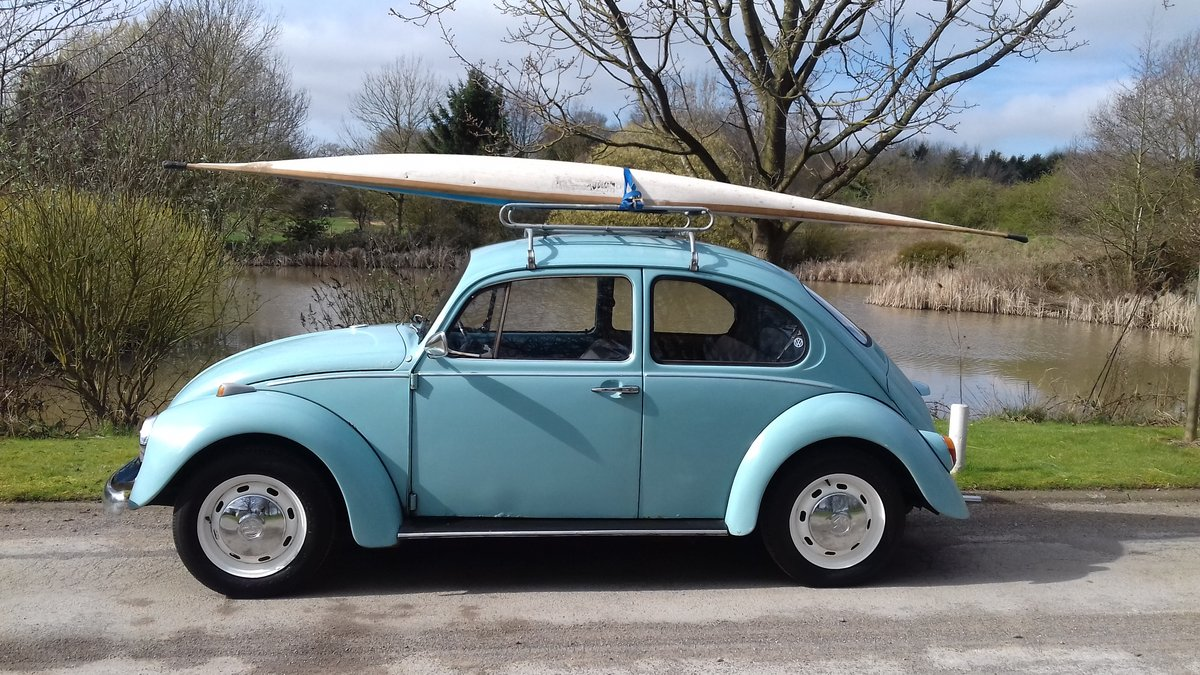 1972 VW BEETLE 1200 ~ RUNS & DRIVES GREAT ~ SOLID FLOORS! SOLD (picture 2 of 6)
