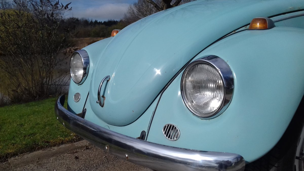 1972 VW BEETLE 1200 ~ RUNS & DRIVES GREAT ~ SOLID FLOORS! SOLD (picture 3 of 6)