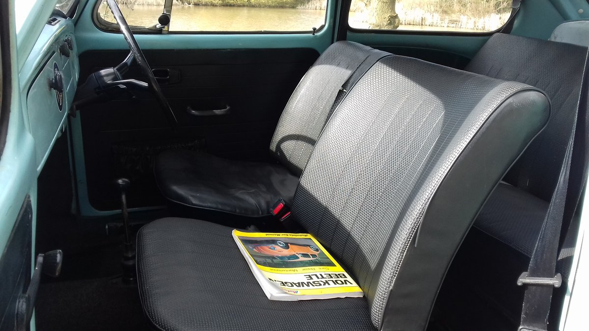 1972 VW BEETLE 1200 ~ RUNS & DRIVES GREAT ~ SOLID FLOORS! SOLD (picture 5 of 6)