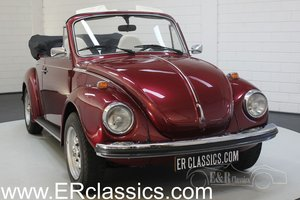 Volkswagen Beetle 1300 Cabriolet 1973 Burgundy red metallic