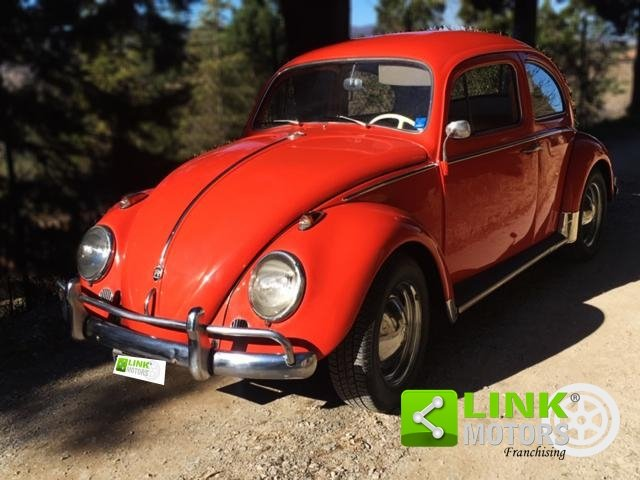 Volkswagen Maggiolino 1200 6V, anno 1963, restaurata For Sale (picture 1 of 6)