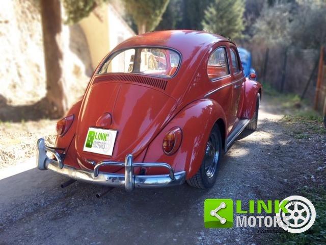 Volkswagen Maggiolino 1200 6V, anno 1963, restaurata For Sale (picture 3 of 6)