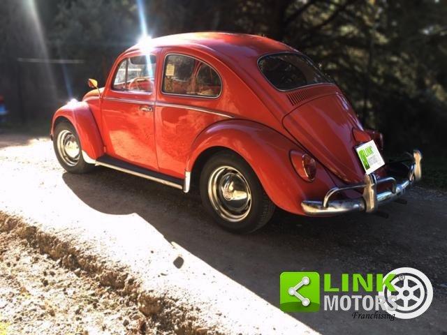 Volkswagen Maggiolino 1200 6V, anno 1963, restaurata For Sale (picture 4 of 6)