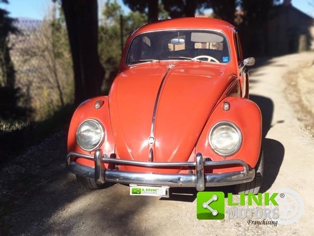 Volkswagen Maggiolino 1200 6V, anno 1963, restaurata For Sale (picture 5 of 6)