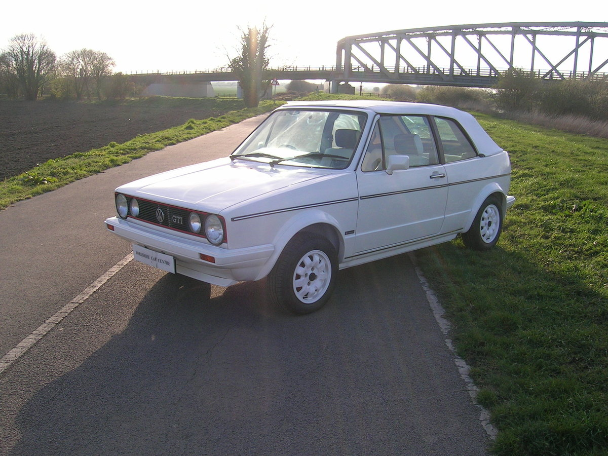 1984 Volkswagen Golf GTi Convertible  For Sale (picture 1 of 6)