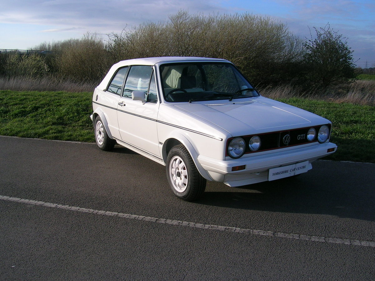 1984 Volkswagen Golf GTi Convertible  For Sale (picture 2 of 6)