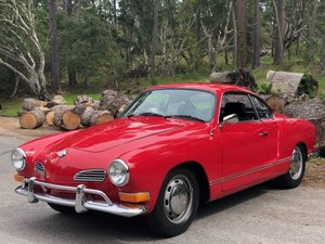1970 Volkswagen Karmann Ghia Coupe = Red(~)Black $16.8k For Sale