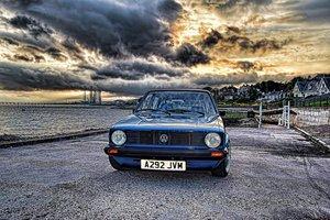 1983 Volkswagen MK1 5dr Tintop Golf C Paragus Blue For Sale