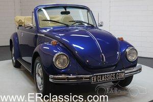 Volkswagen Beetle 1303 Cabriolet 1973 Blue metallic