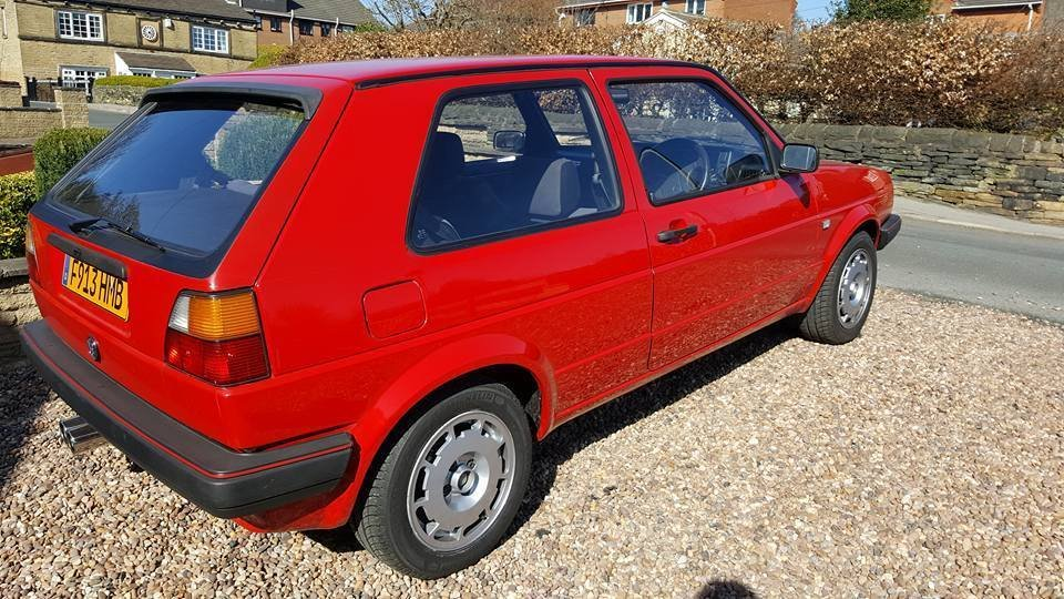 1989 vw golf gti 1 8 restored for sale car and classic. Black Bedroom Furniture Sets. Home Design Ideas