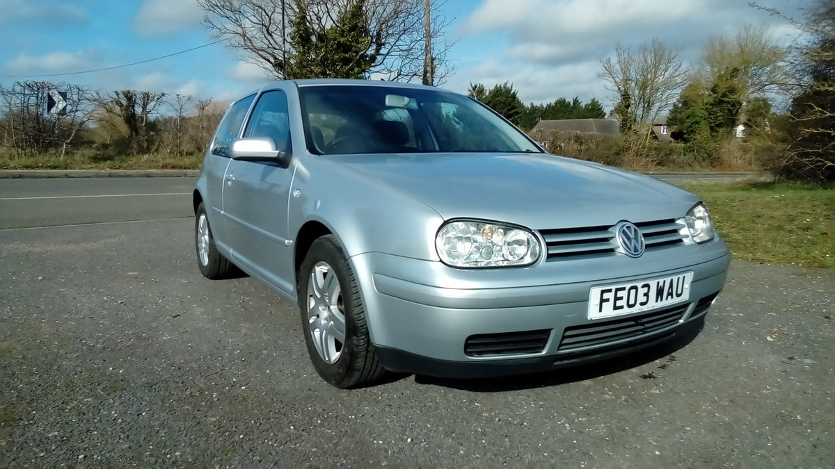 2003 Volkswagen golf 2.0 gti For Sale (picture 1 of 6)