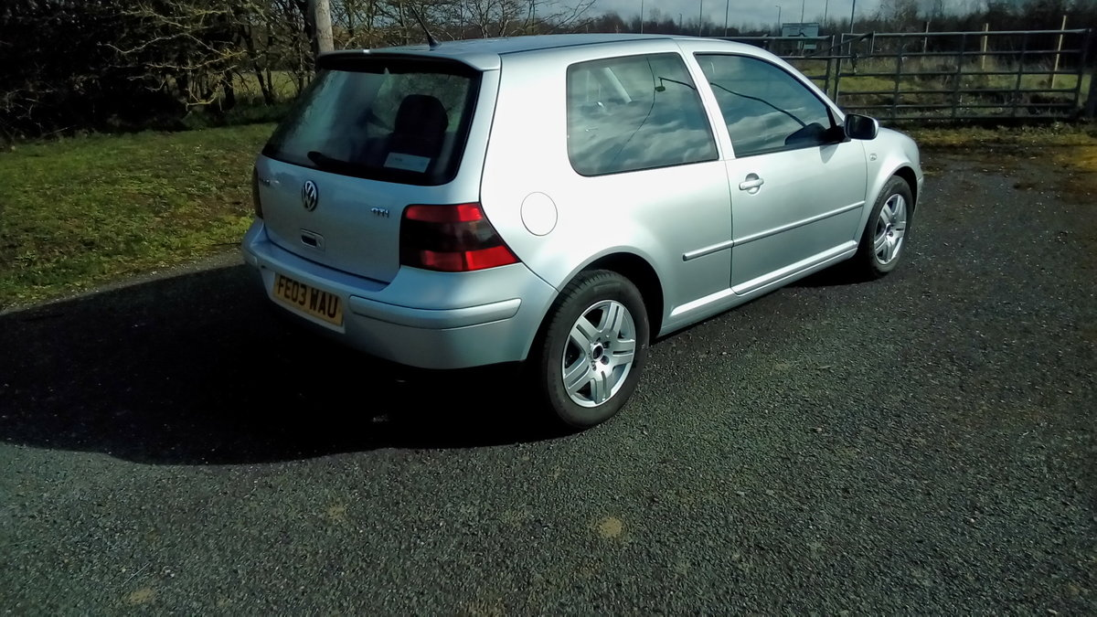2003 Volkswagen golf 2.0 gti For Sale (picture 3 of 6)