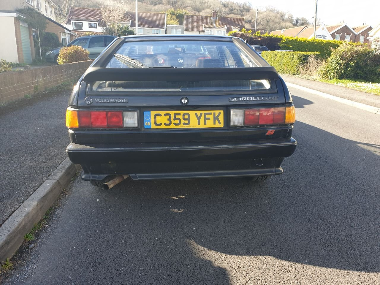 1986 Scirocco Mk2 GT S for sale (Low mileage) SOLD (picture 2 of 6)