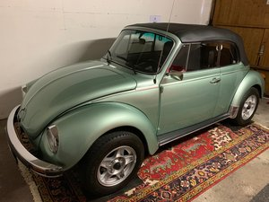 1978 VW Kaefer Beetle 1303 LS Cabrio PORSCHE PAINT For Sale