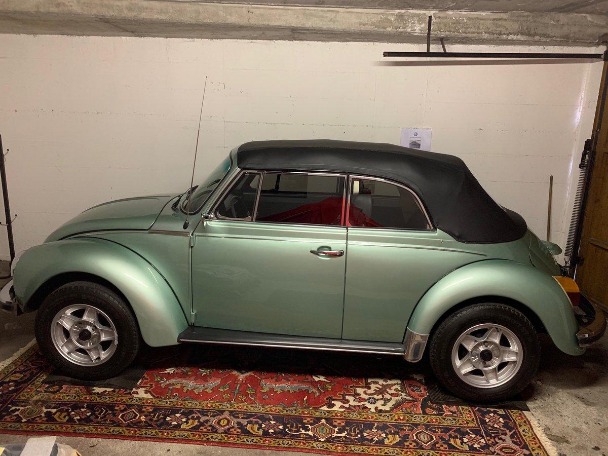 1978 VW Kaefer Beetle 1303 LS Cabrio PORSCHE PAINT For Sale (picture 2 of 6)