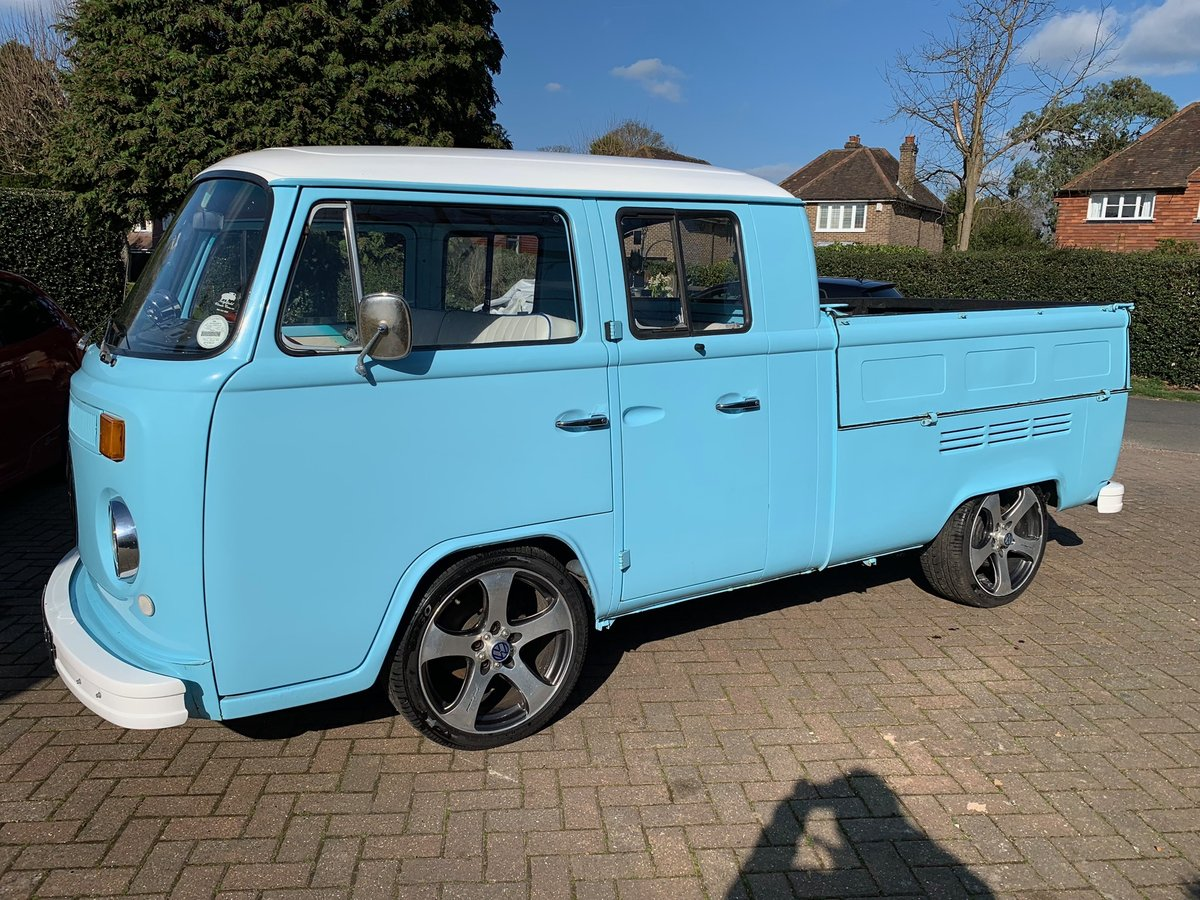 RHD 1974 VW Type 2 Double Cab , Crew Cab , Pick up For Sale (picture 1 of 6)
