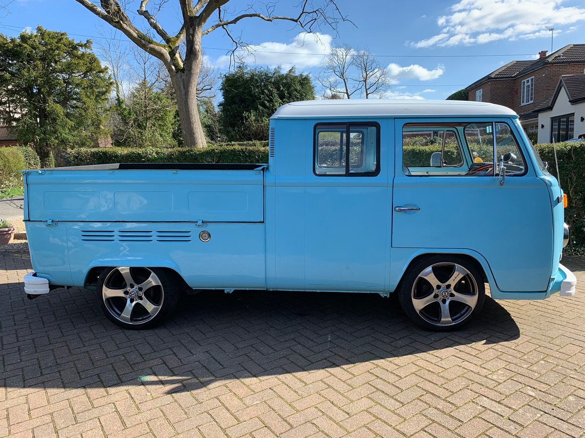 RHD 1974 VW Type 2 Double Cab , Crew Cab , Pick up For Sale (picture 2 of 6)
