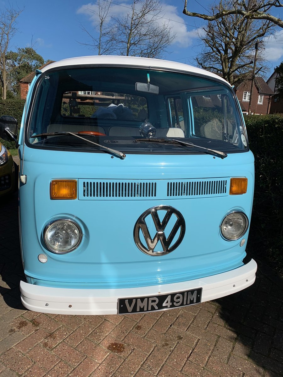 RHD 1974 VW Type 2 Double Cab , Crew Cab , Pick up For Sale (picture 3 of 6)