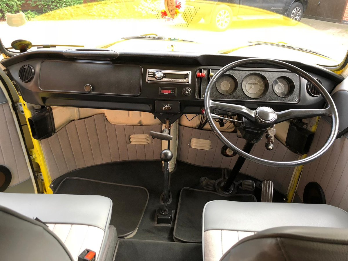 T2 Bay Window Campervan 1972 Crossover For Sale (picture 5 of 6)