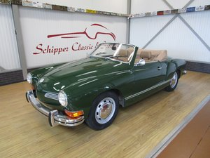 1972 Volkswagen Karmann Ghia Type 14 Cabrio For Sale