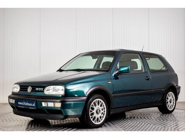 1997 Volkswagen Golf MK3 GTI 2.0 For Sale (picture 1 of 6)