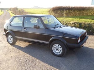 1983 Immaculate Mk1 Golf GTi - 3 owners, full history For Sale