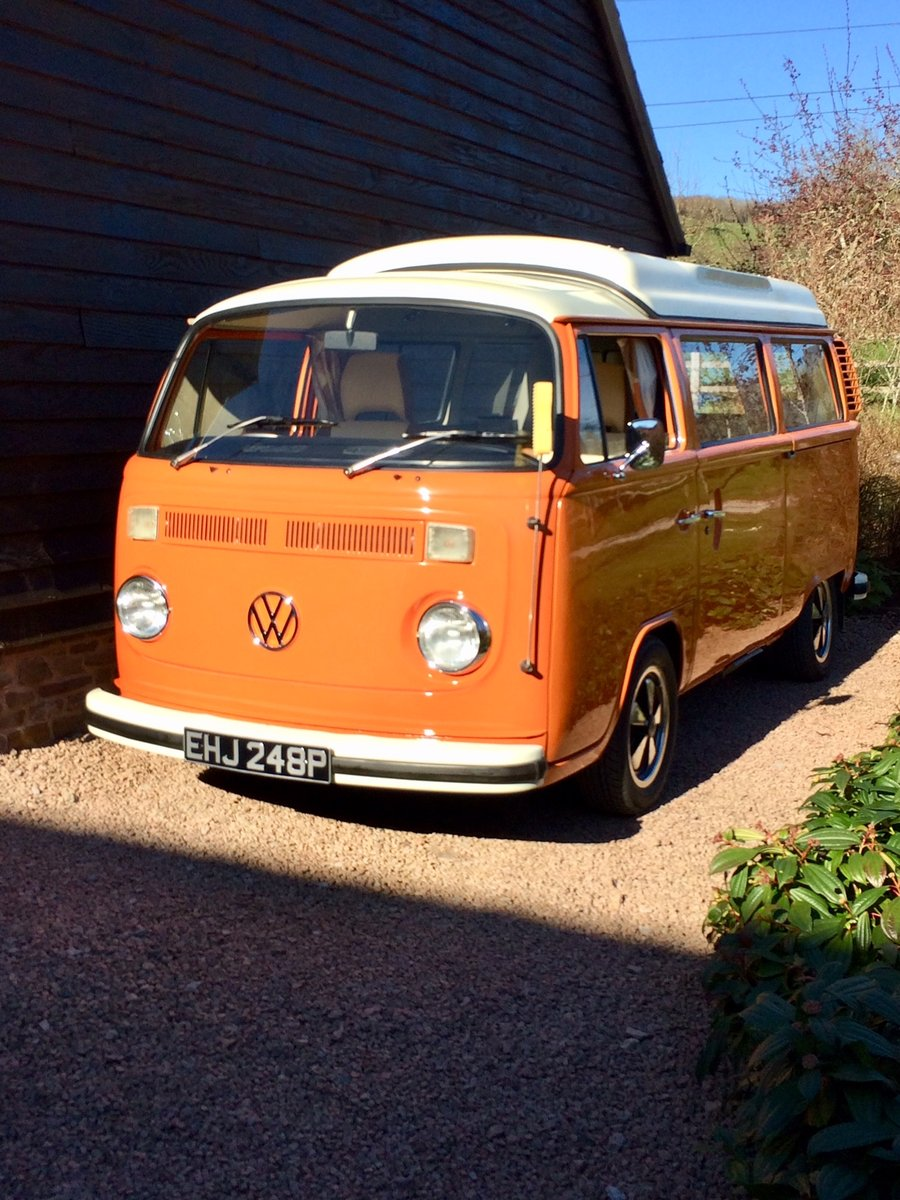 Classic 1975 VW T2 Bay - 'Matilda' For Sale (picture 1 of 6)