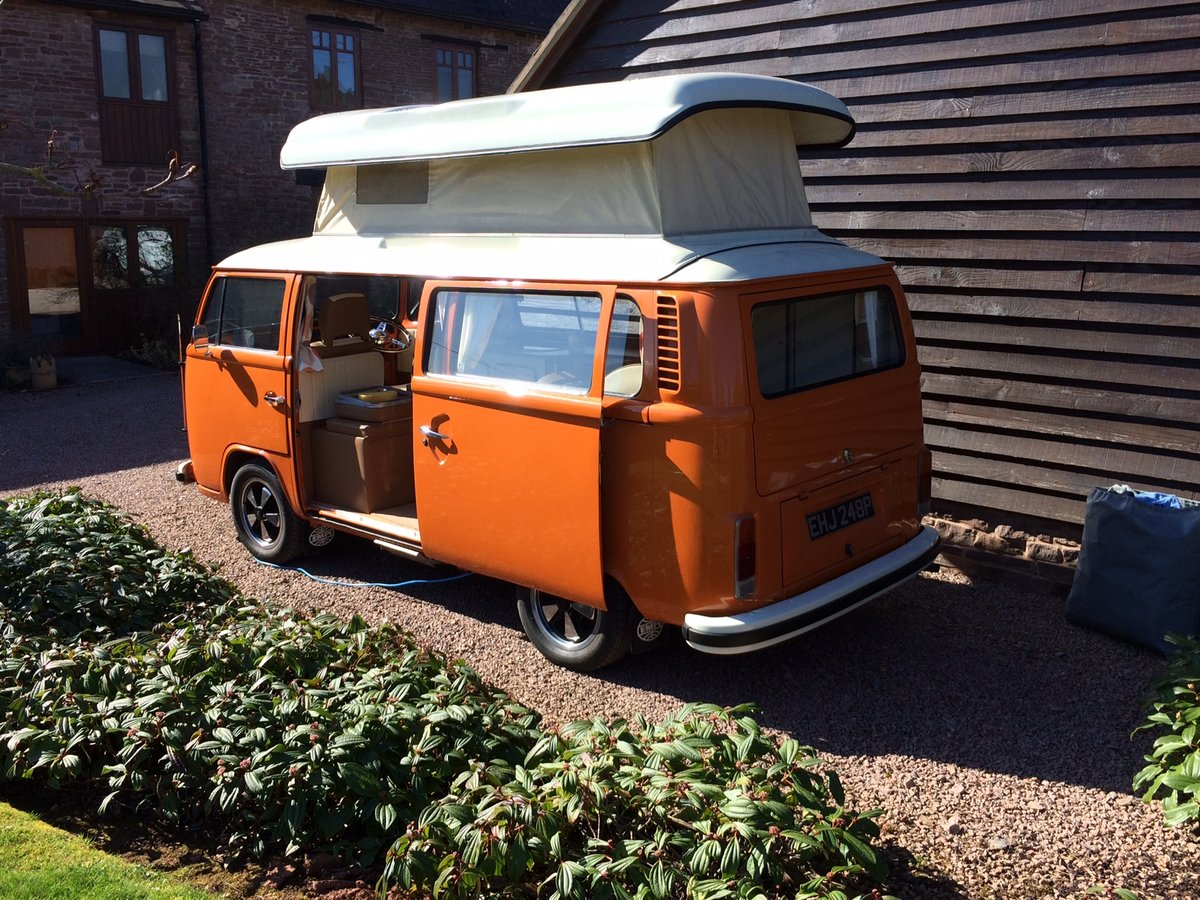 Classic 1975 VW T2 Bay - 'Matilda' For Sale (picture 2 of 6)