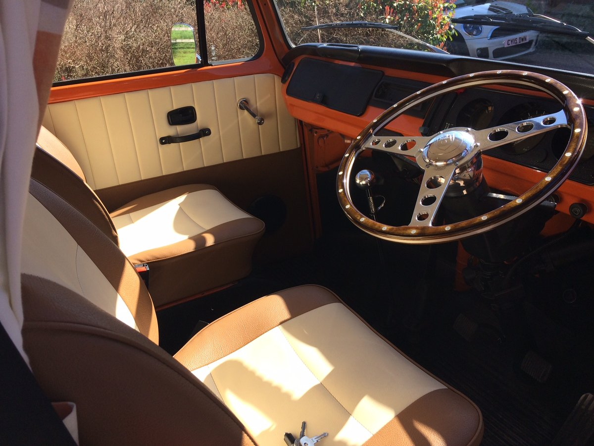 Classic 1975 VW T2 Bay - 'Matilda' For Sale (picture 3 of 6)