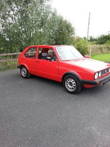 VW GOLF GTI MK1 1983