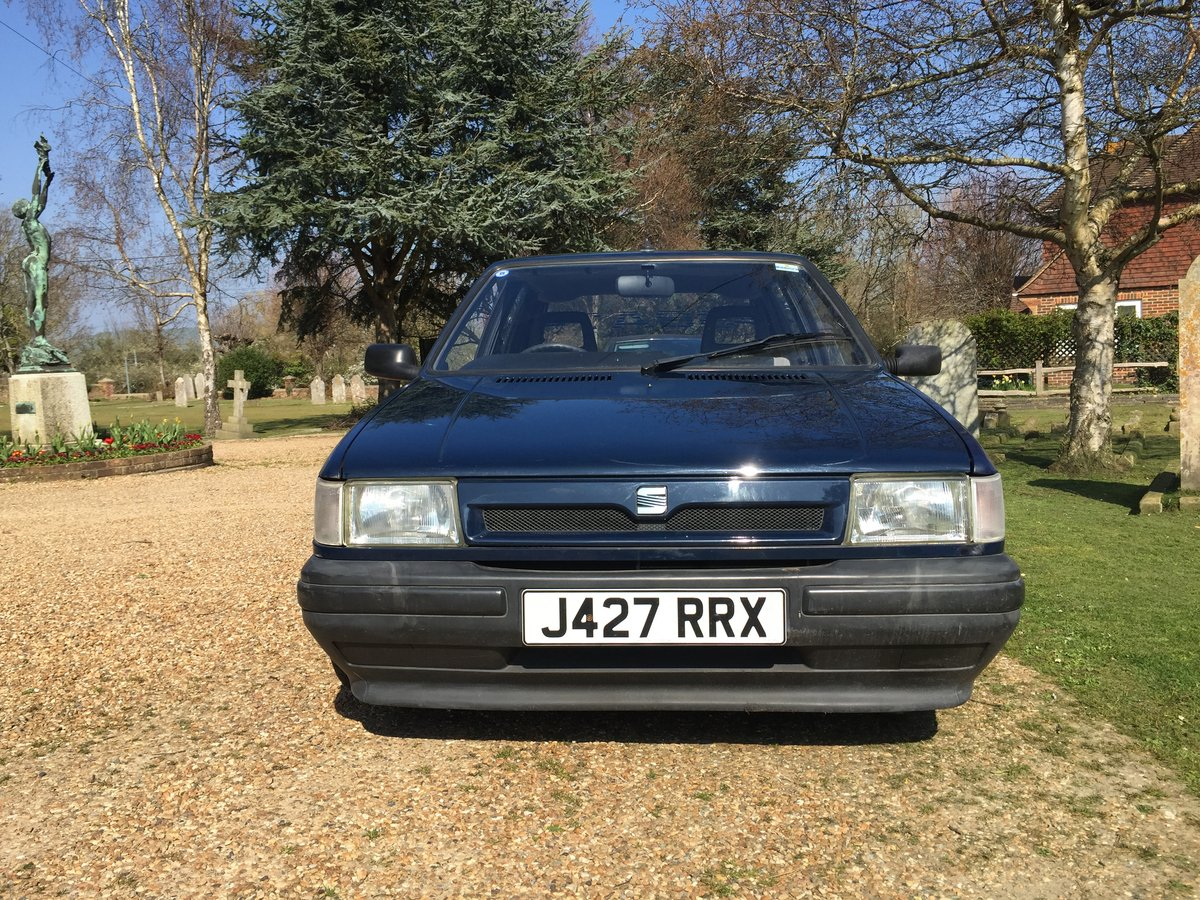 Stunning Seat Ibiza  MK1 1991 38000 miles For Sale (picture 1 of 6)