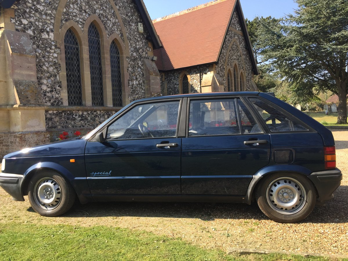Stunning Seat Ibiza  MK1 1991 38000 miles For Sale (picture 2 of 6)