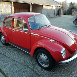 1973 For sale low mileage beetle For Sale