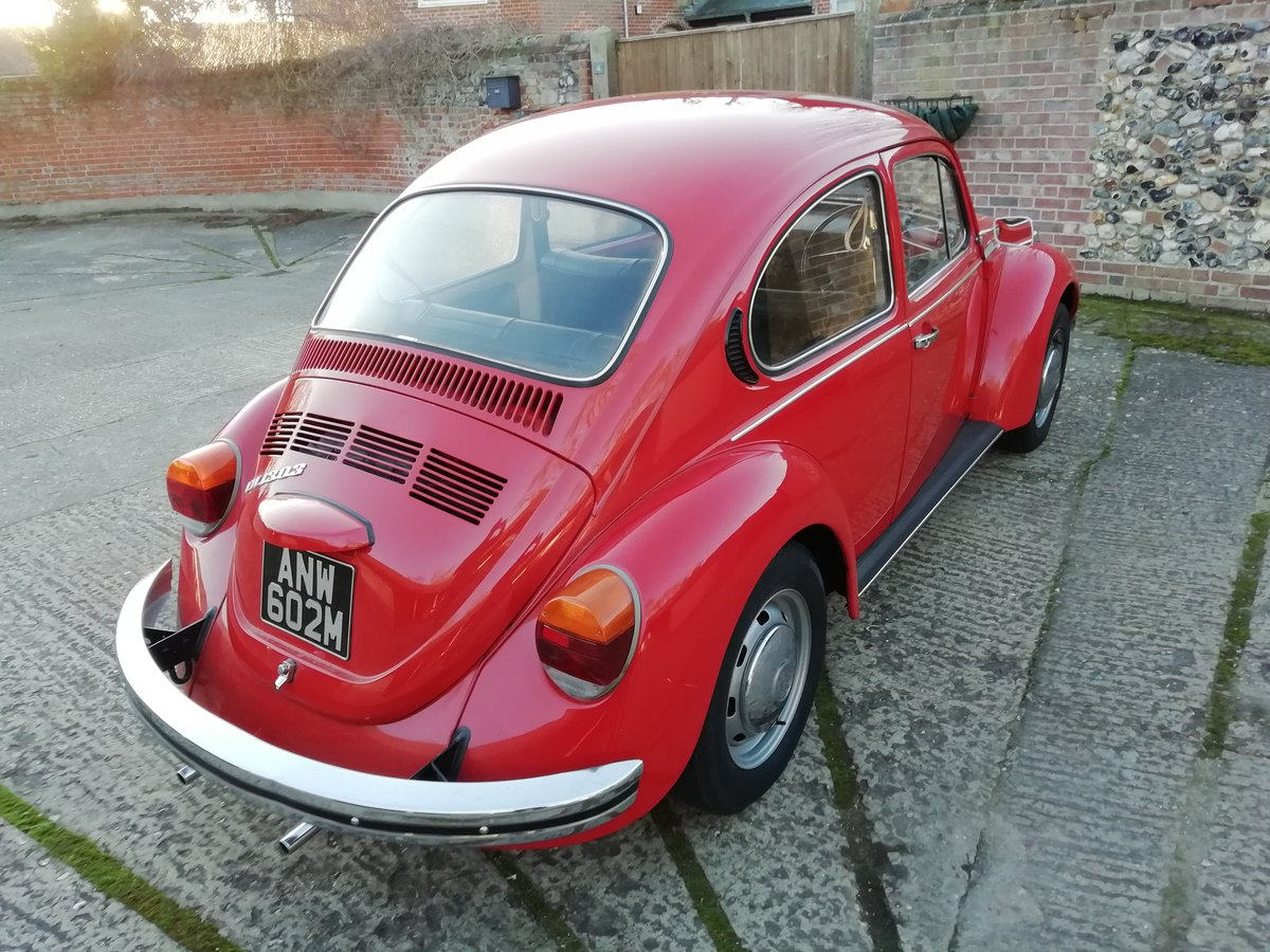 1973 For sale low mileage beetle For Sale (picture 4 of 6)