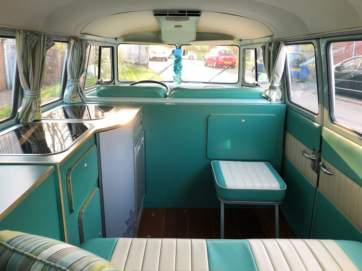 1964 LHD Split Screen Camper Van For Sale (picture 5 of 6)