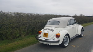 1979 VW Karmann Convertable Beetle For Sale