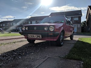 "1989 Volkswagen polo ""breadvan"" fox 1.1L"