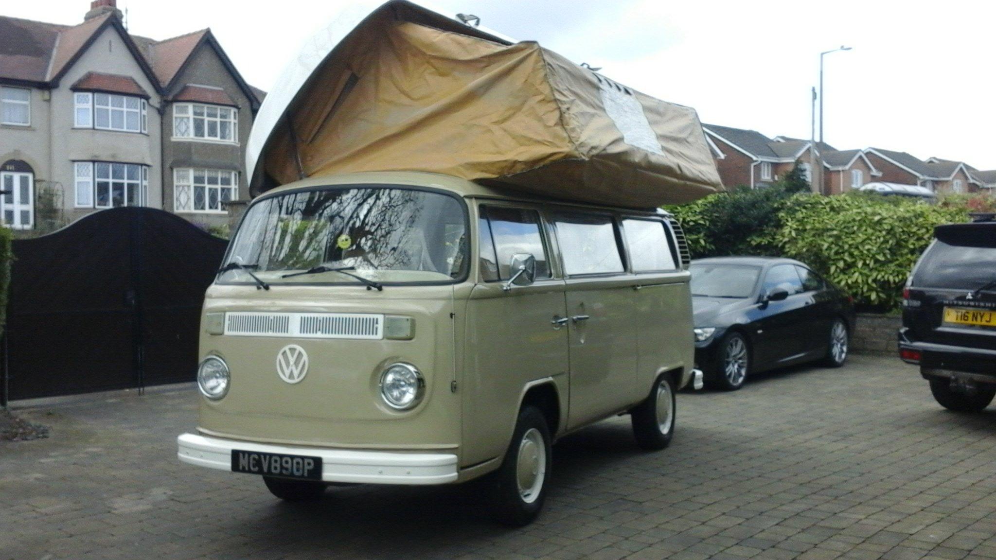 1976 VW VOLKSWAGEN T2 TYPE2 BAYWINDOW CAMPER VAN For Sale (picture 1 of 6)