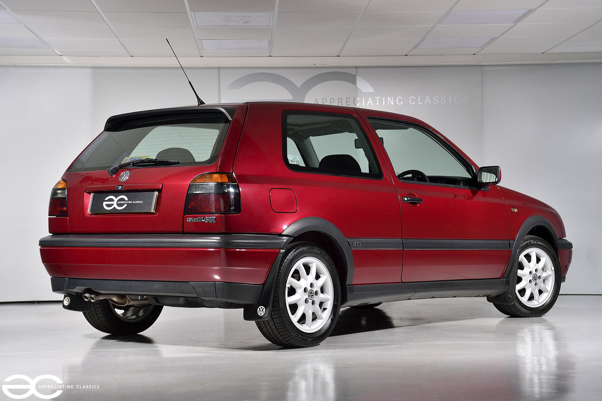 1996 As New Golf GTi - One Owner - 14k Miles - Full History For Sale (picture 3 of 6)