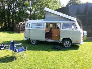 1972 Fully restored vw bay window crossover westfalia